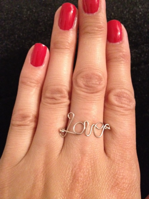 DIY Love ring Christmas