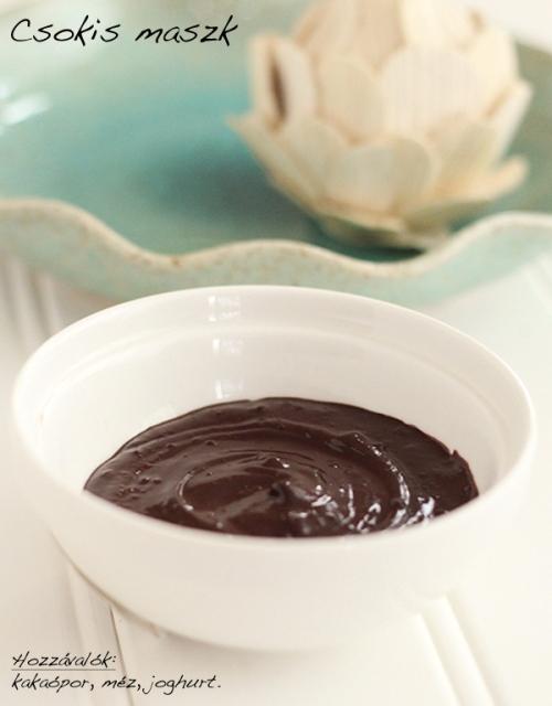 Csokis maszk