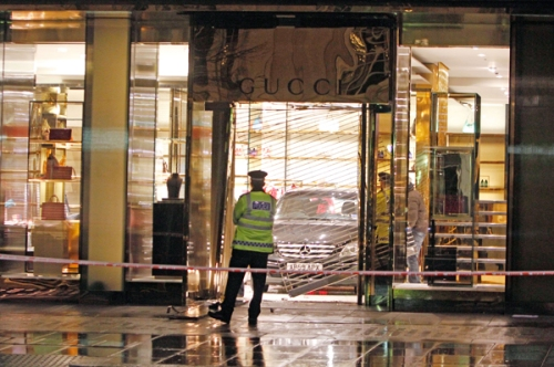 London's Gucci flagship store in Sloane Street targeted by thieves