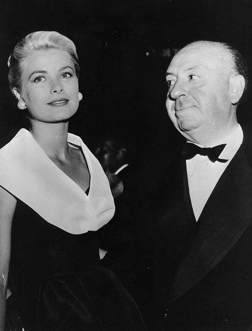 Hitchcock and Grace Kelly